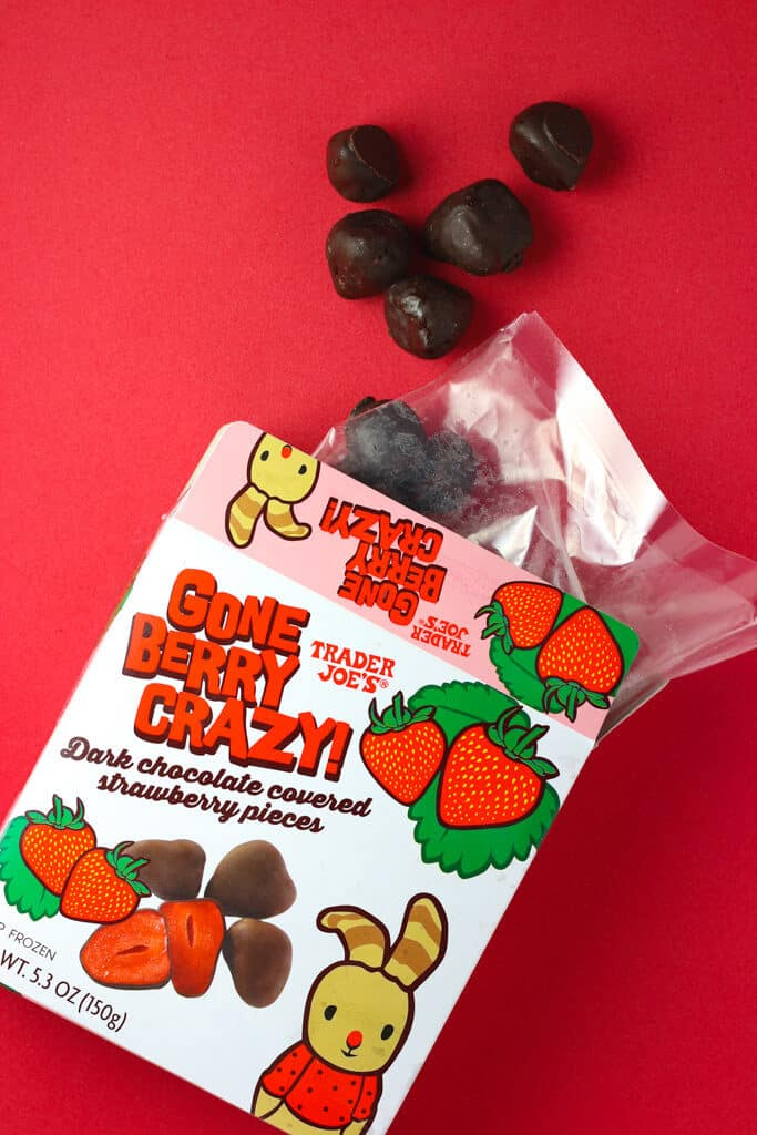 Gone Berry STrawberries from Trader JOe's - Alyson's Current Favorites // June 2018, featured by popular Florida style blogger, The Modern Savvy