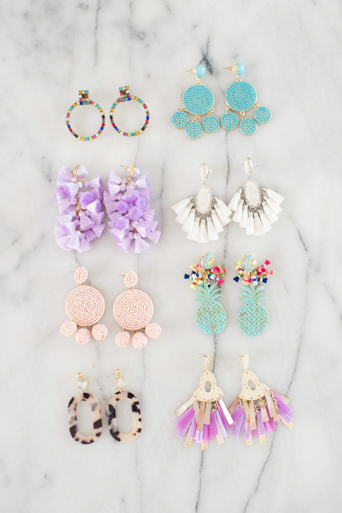The prettiest, on-trend -- and affordable! -- statement earrings // the modern savvy