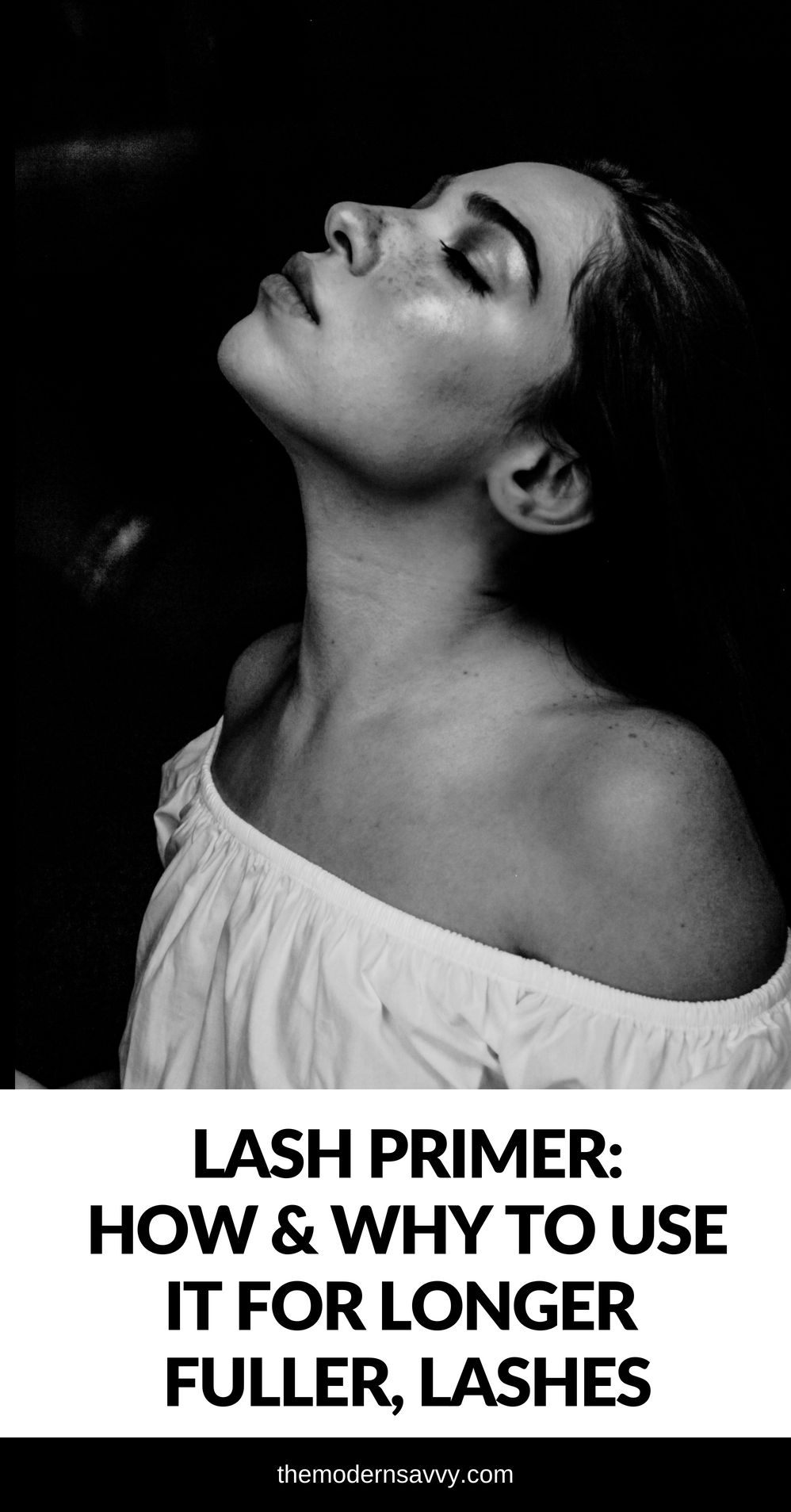 Lash primer for lashes: why you should use it for longer lashes, plus the top five primers starting at $5 - Why You Should Use a Lash Primer featured by popular Florida beauty blogger The Modern Savvy