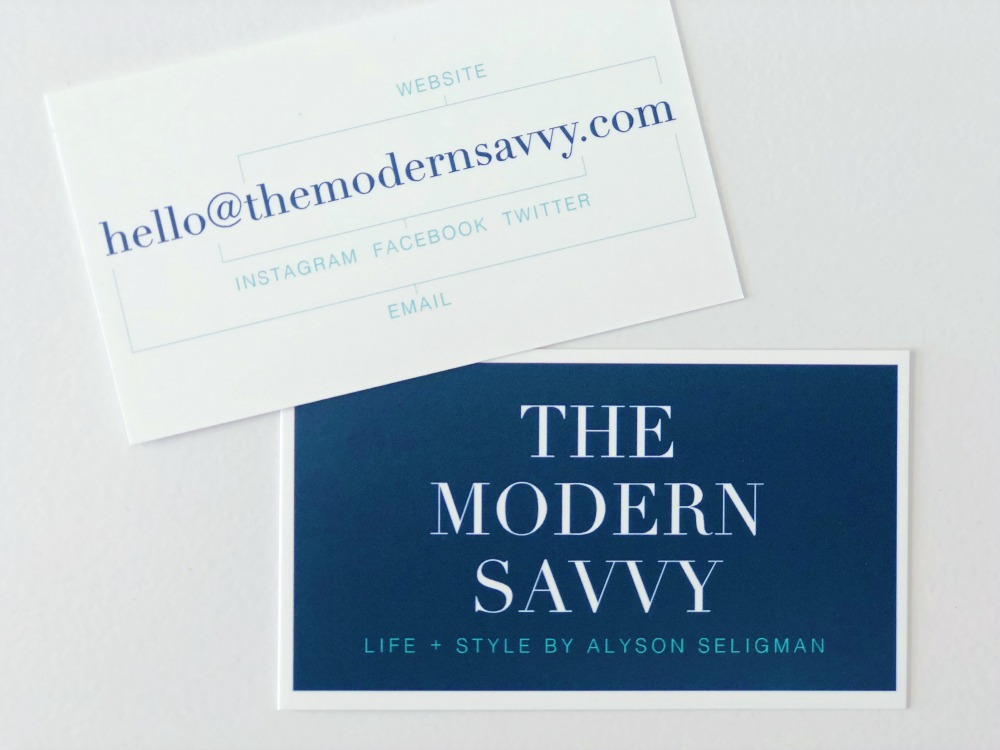 modern business card concept - What You Should Know Before Starting a Business featured by popular Florida life and style blogger The Modern Savvy