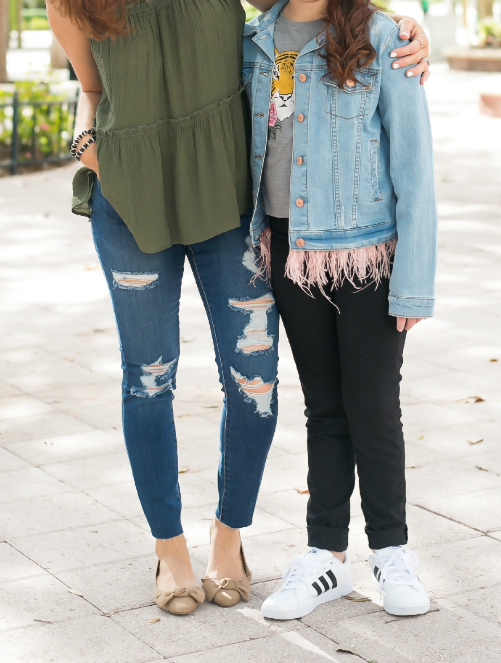 Mother daughter fall style - Back to School Style, with JCPenney featured by popular Florida fashion blogger, The Modern Savvy