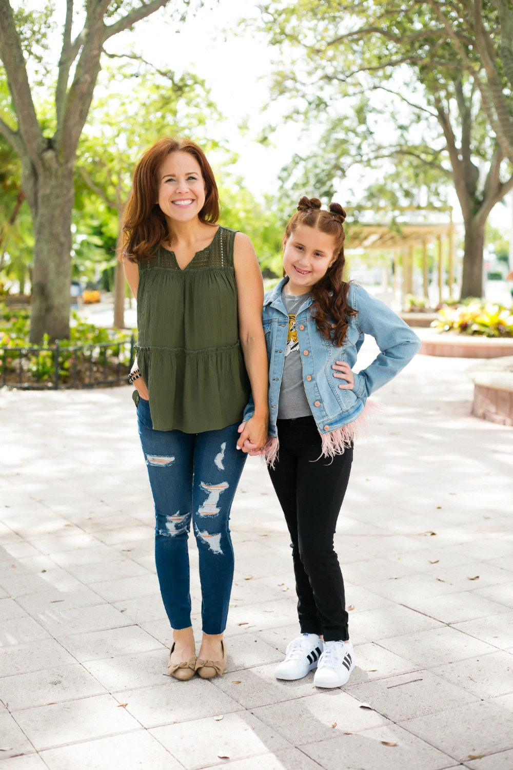 Mother daughter style for fall with JC Penney - Back to School Style, with JCPenney featured by popular Florida fashion blogger, The Modern Savvy