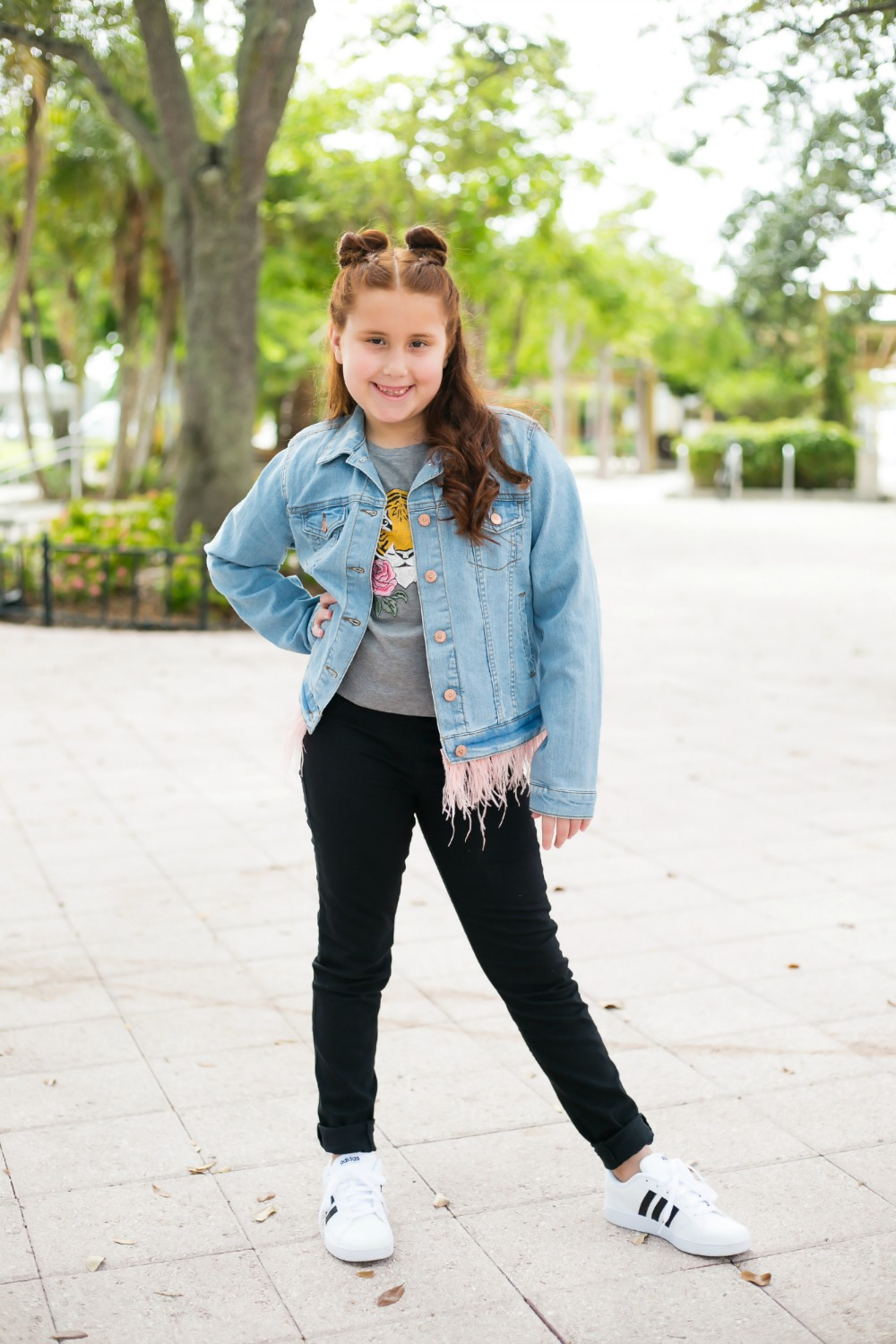 Back to school outfit ideas for your little girl // the modern savvy, a life & style blog - Back to School Style, with JCPenney featured by popular Florida fashion blogger, The Modern Savvy