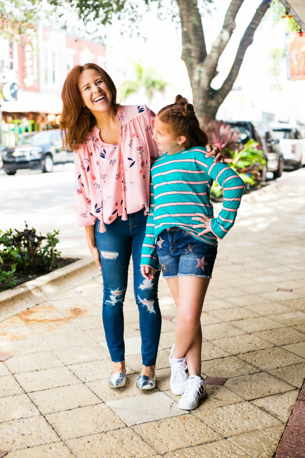 mother daughter style in west palm beach - Back to School Style, with JCPenney featured by popular Florida fashion blogger, The Modern Savvy