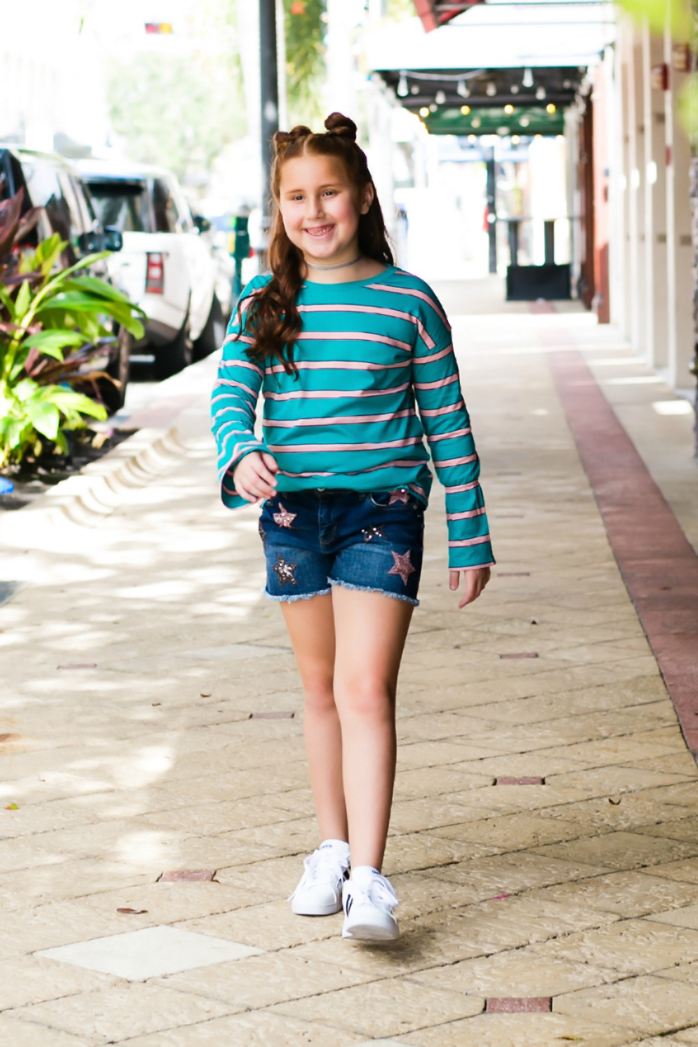 On trend, affordable outfit ideas for girls this fall - Back to School Style, with JCPenney featured by popular Florida fashion blogger, The Modern Savvy