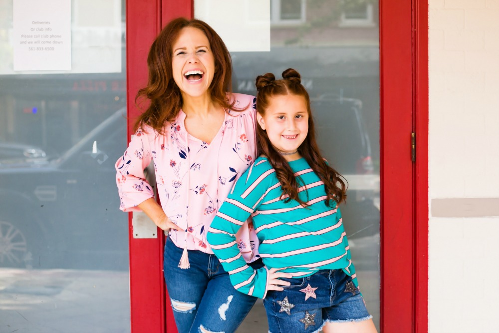 Alyson and Sarah Seligman at The Modern Savvy - Back to School Style, with JCPenney featured by popular Florida fashion blogger, The Modern Savvy