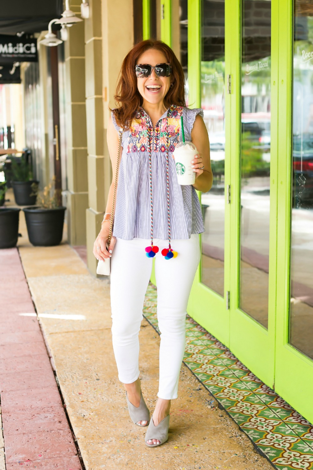 the under $20 summer top you need - Cutest $17 Summer Top, Basically Ever featured by popular Florida style blogger The Modern Savvy