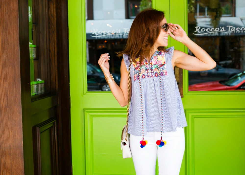 summer outfit ideas - Cutest $17 Summer Top, Basically Ever featured by popular Florida style blogger The Modern Savvy