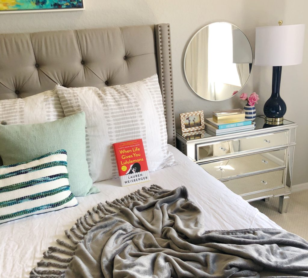 Master Bedroom reading When Life Gives You Lululemons | Avon | My Nighttime Routine featured by popular Florida life and style blogger The Modern Savvy