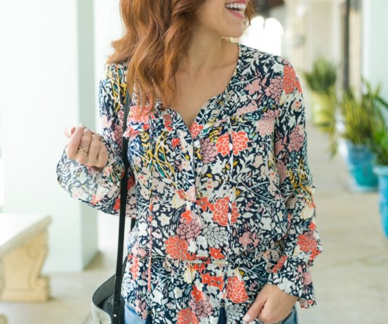 Florals for fall -- how to wear this fall's trends, especially if you live in a warmer climate // the modern savvy, life & style blog based in florida