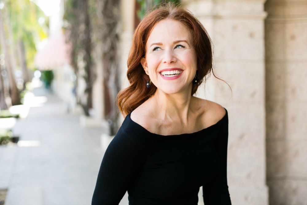 redhead // alyson of the modern savvy, florida life & style blog   #fallstyle #casualstyle #weekendwear   Fall Trends in Warm Weather: Zara Camo Pants Two Ways featured by popular Florida fashion blogger The Modern Savvy