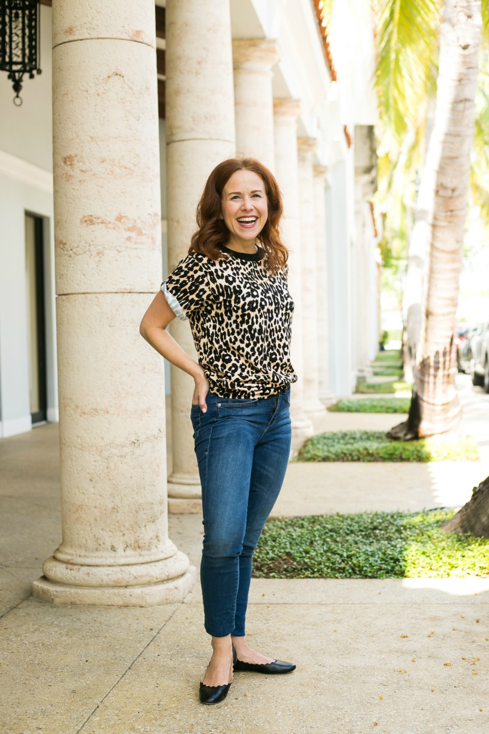 Good American | How real girls can style this fall's biggest trends including leopard | Fall Trends in Warm Weather: Leopard featured by popular Florida life and style blogger The Modern Savvy