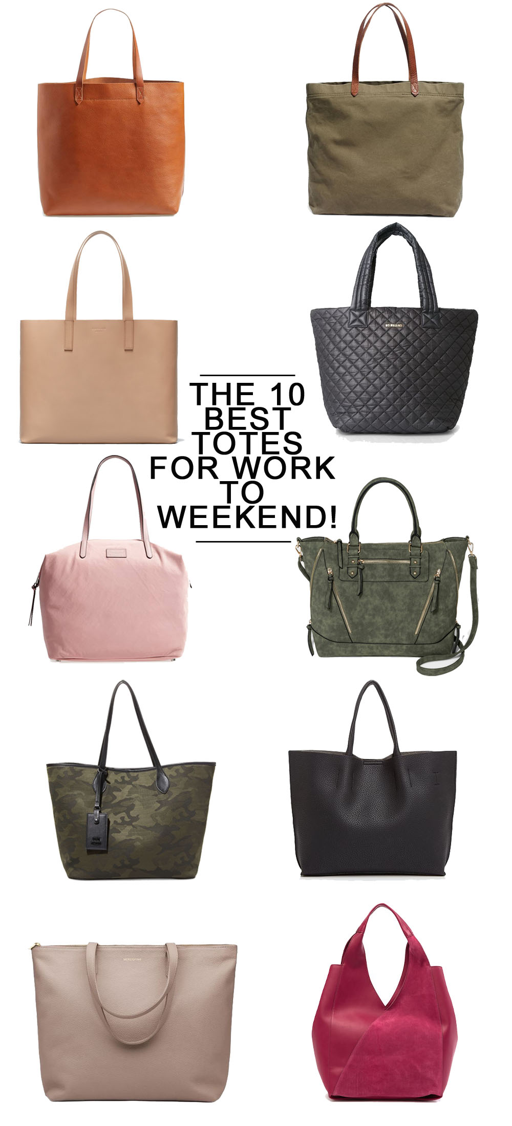 The 10 Best Tote Bags featured by top Florida fashion blog The Modern Savvy