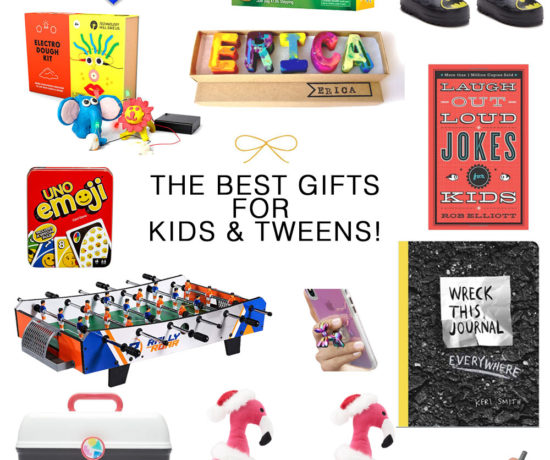 The best and most creative gifts for kids and tweens #giftguide #holidaygifts