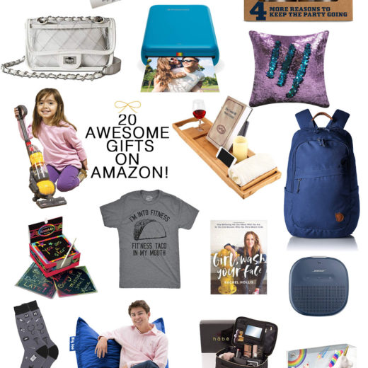 Amazon Gift Guide: 20 Awesome GIft Ideas Available on Amazon #giftideas #amazon #holiday
