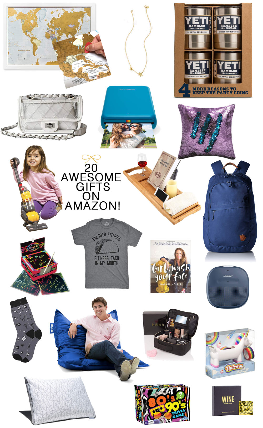 45046f1fb2 ... Everyone on your List. Amazon Gift Guide: 20 Awesome GIft Ideas  Available on Amazon #giftideas #amazon #