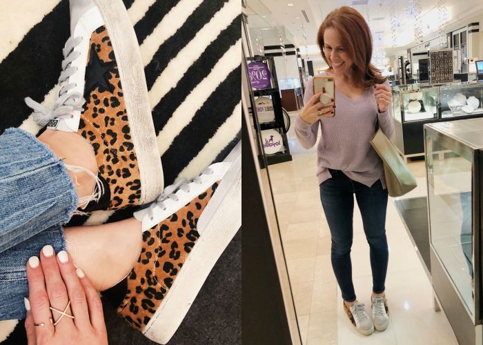 Golden Goose leopard sneaks dupes -- get the look for less!