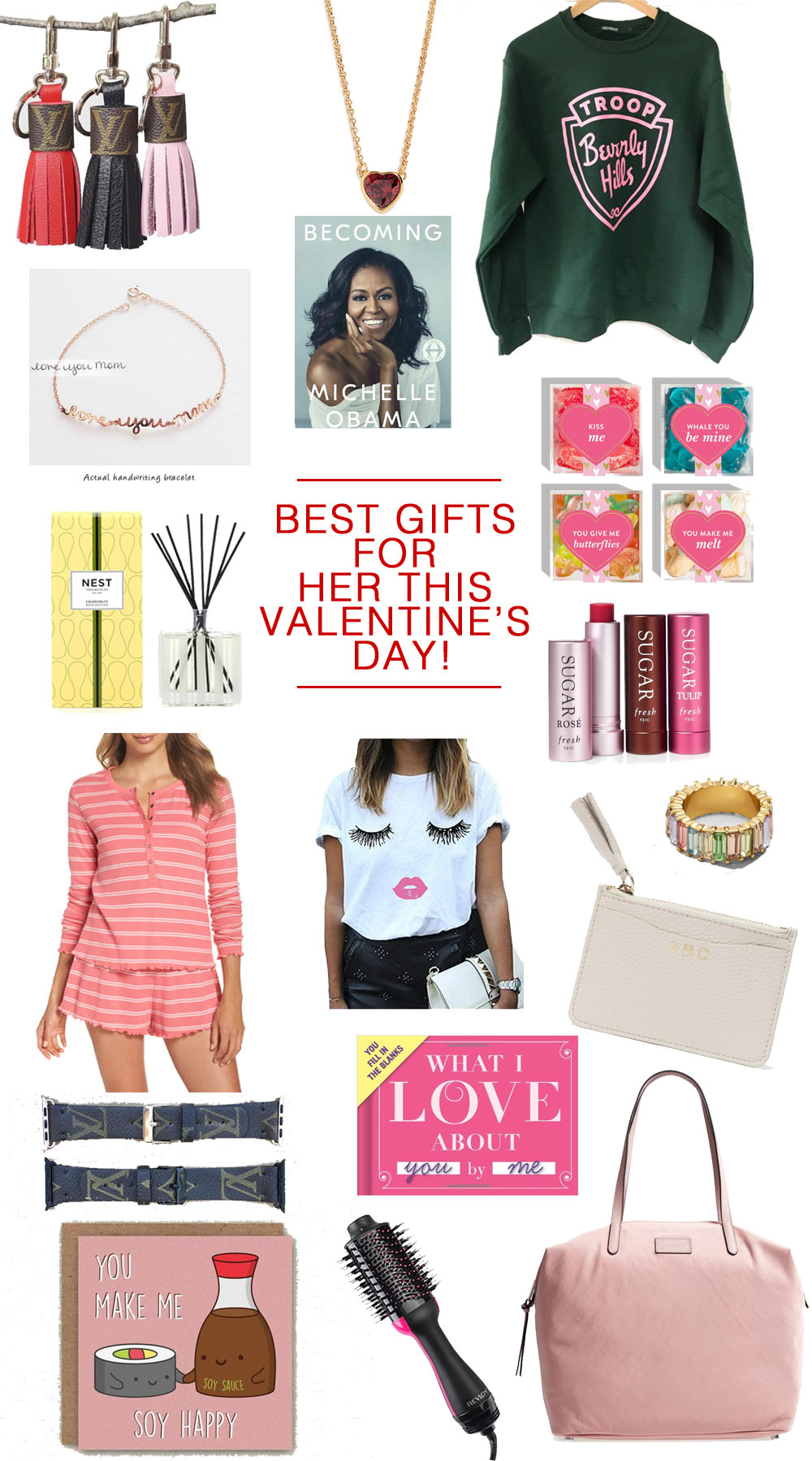 The Best Valentine's Gifts for Her #valentines #giftguide