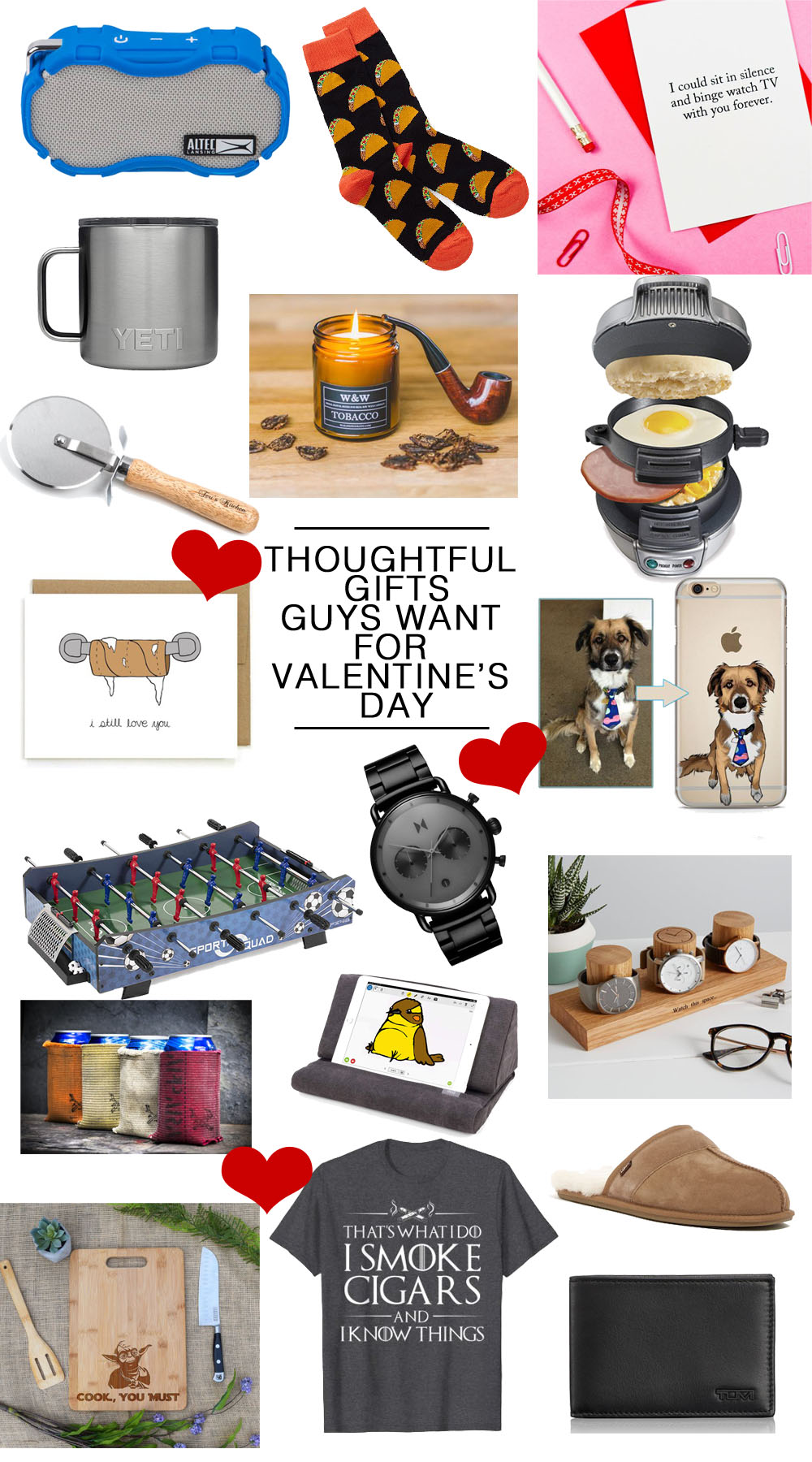 Thoughtful, Cool and Affordable Gifts Guys Actually Want for Valentine's Day