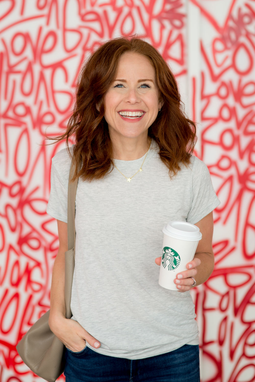 Two ways to wear a tee and jeans -- from weekend to work wear