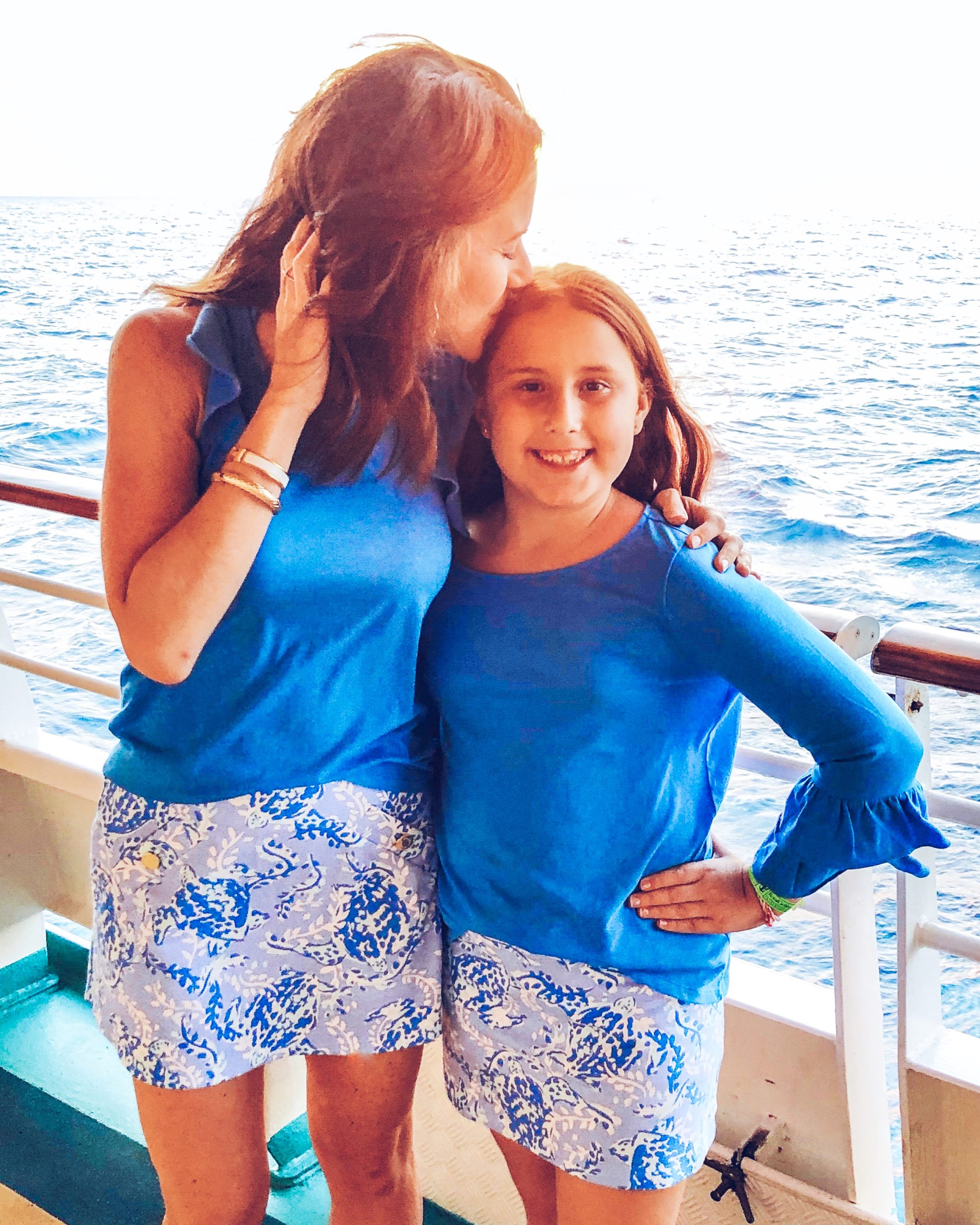 Mommy and Me Lilly Pulitzer outfits // favorite vacation outfits for the entire family