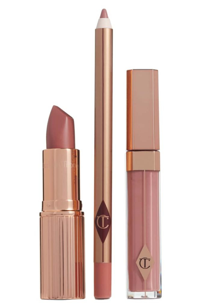 Nordstrom Anniversary Sale 2019: Fitting Room Try-On Session & My Favorite Under $100 finds! by popular Florida fashion blog, The Modern Savvy: image of Charlotte Tilbury The Pillow Talk Full Size Lip Kit.