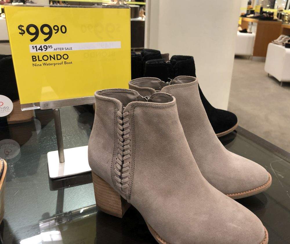 Nordstrom Anniversary Sale 2019: Fitting Room Try-On Session & My Favorite Under $100 finds! by popular Florida fashion blog, The Modern Savvy: image of Blondo booties.