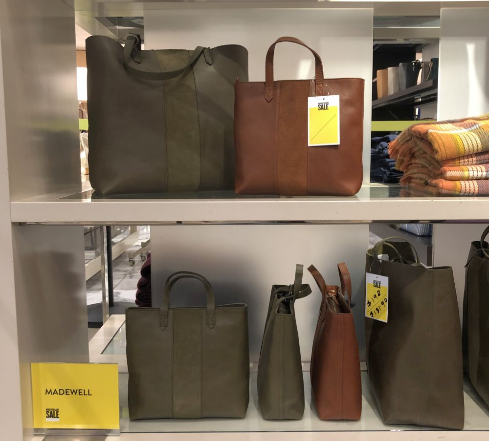 Nordstrom Anniversary Sale 2019: Fitting Room Try-On Session & My Favorite Under $100 finds! by popular Florida fashion blog, The Modern Savvy: image of Madewell large and small transport tote.