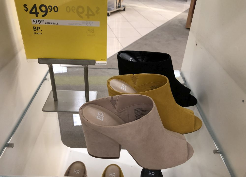 Nordstrom Anniversary Sale 2019: Fitting Room Try-On Session & My Favorite Under $100 finds! by popular Florida fashion blog, The Modern Savvy: image of BP MULES.
