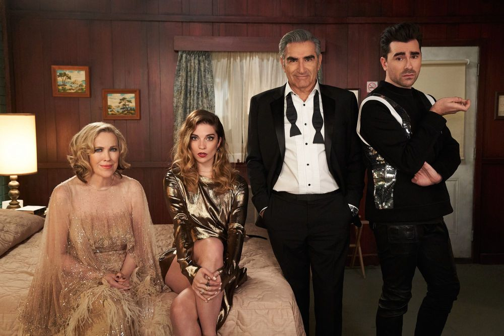 Netflix Recently Watched list by popular Florida lifestyle blog, The Modern Savvy: still image of the show Schitt's Creek.