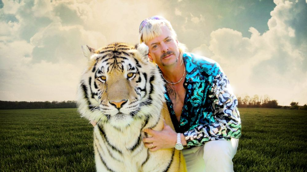 Netflix Recently Watched list by popular Florida lifestyle blog, The Modern Savvy: still image of the show Tiger King.